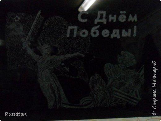 Здесь у меня стекло, распечатанный рисунок ч/б формате, обычная копирка, самодельная машинка, ручка и насадки. фото 13