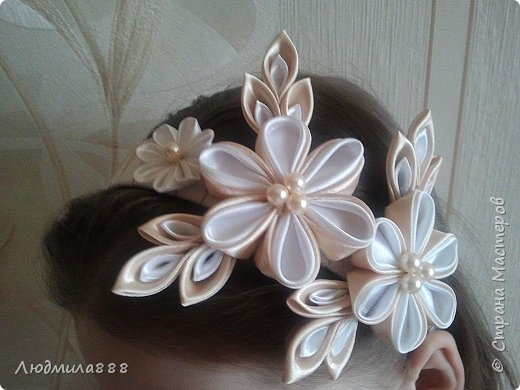 Резиночки для волос внучке в школу, поэтому скромненькие... фото 6