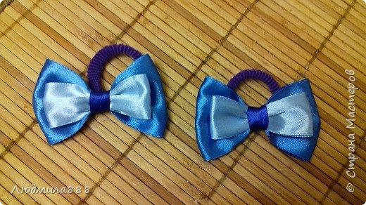 Резиночки для волос внучке в школу, поэтому скромненькие... фото 4