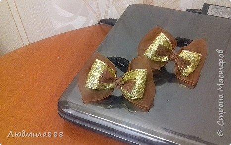 Резиночки для волос внучке в школу, поэтому скромненькие... фото 8