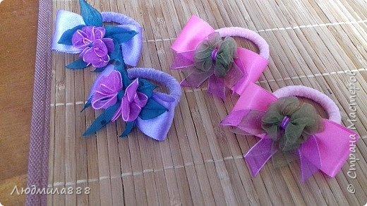 Резиночки для волос внучке в школу, поэтому скромненькие... фото 7