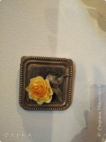 Интерьерная композиция из полимерной глины фото 7