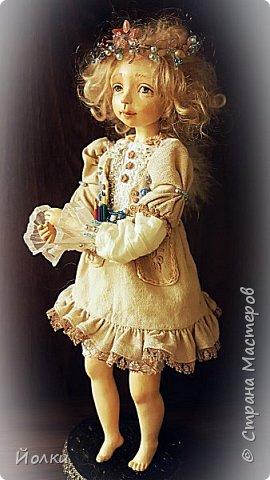 Куклы - моя работа. Мои труд и отдых. Моя любовь, моя радость, мои мечты, фантазии. Куклы - моя жизнь. Без них себя уже и не представляю... Для кого-то они - не более чем просто игрушка. Для кого-то становятся символическим воплощением Ангела-хранителя, домашнего оберега.... Здравствуйте, Жители Страны мастеров! Это Стеша, Стефания. Живет уже в городе на Неве. Ее там любят. И мне от этого ой как хорошо! фото 4