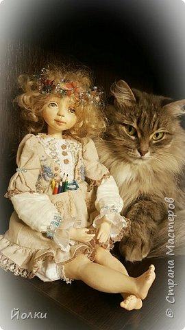 Куклы - моя работа. Мои труд и отдых. Моя любовь, моя радость, мои мечты, фантазии. Куклы - моя жизнь. Без них себя уже и не представляю... Для кого-то они - не более чем просто игрушка. Для кого-то становятся символическим воплощением Ангела-хранителя, домашнего оберега.... Здравствуйте, Жители Страны мастеров! Это Стеша, Стефания. Живет уже в городе на Неве. Ее там любят. И мне от этого ой как хорошо! фото 5