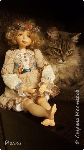 Куклы - моя работа. Мои труд и отдых. Моя любовь, моя радость, мои мечты, фантазии. Куклы - моя жизнь. Без них себя уже и не представляю... Для кого-то они - не более чем просто игрушка. Для кого-то становятся символическим воплощением Ангела-хранителя, домашнего оберега.... Здравствуйте, Жители Страны мастеров! Это Стеша, Стефания. Живет уже в городе на Неве. Ее там любят. И мне от этого ой как хорошо! фото 6
