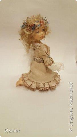Куклы - моя работа. Мои труд и отдых. Моя любовь, моя радость, мои мечты, фантазии. Куклы - моя жизнь. Без них себя уже и не представляю... Для кого-то они - не более чем просто игрушка. Для кого-то становятся символическим воплощением Ангела-хранителя, домашнего оберега.... Здравствуйте, Жители Страны мастеров! Это Стеша, Стефания. Живет уже в городе на Неве. Ее там любят. И мне от этого ой как хорошо! фото 1