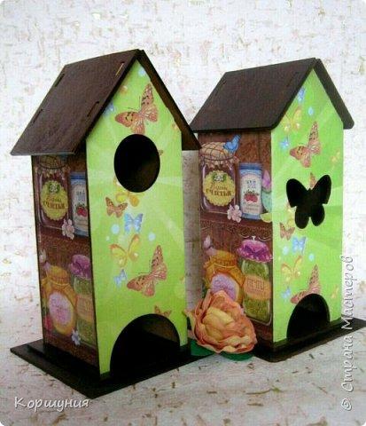 Всем привет.Мои очередные домики для чайных пакетиков. фото 3