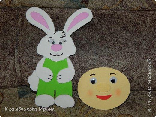Подруга работает в детском саду и постоянно требуется дидактический материал, который в магазине стоит дорого. Вот мы и создаем его сами. Это герои сказок, которые крепятся к магнитной доске. фото 6