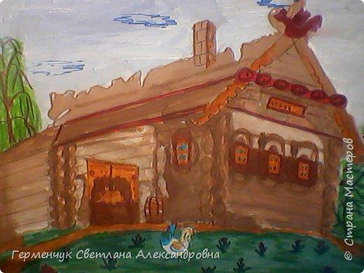 """Этот диафильм по сказке А.С.Пушкина""""Сказка о рыбаке и рыбке""""  ребята 4 класса  подготовили  к уроку  литературного чтения.   фото 3"""