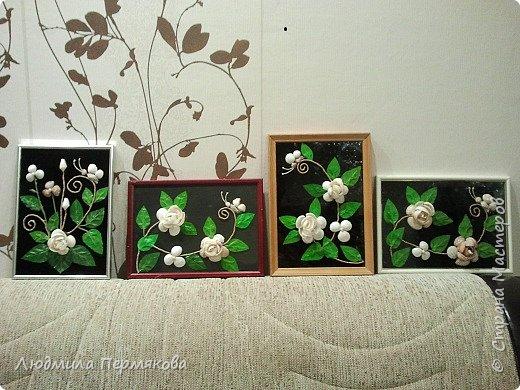 Картины из ракушек фото 3