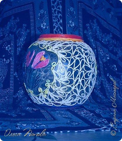Работу выполняла на конкурс Тани Сорокиной    http://stranamasterov.ru/node/1089996      и     http://stranamasterov.ru/node/1091433        http://stranamasterov.ru/node/1093141     . Весенняя баночка. фото 12
