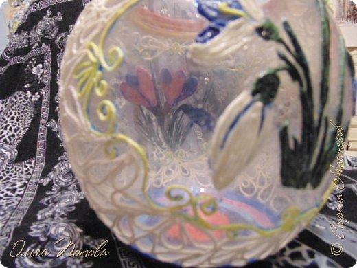 Работу выполняла на конкурс Тани Сорокиной    http://stranamasterov.ru/node/1089996      и     http://stranamasterov.ru/node/1091433        http://stranamasterov.ru/node/1093141     . Весенняя баночка. фото 15