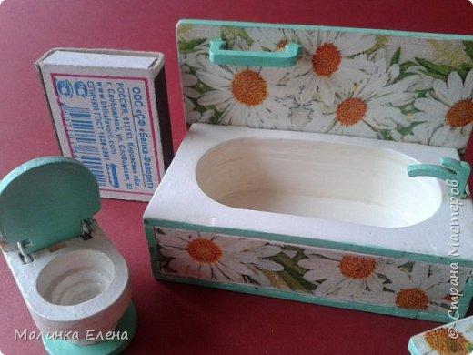 Ванная комната для пупсиков фото 4