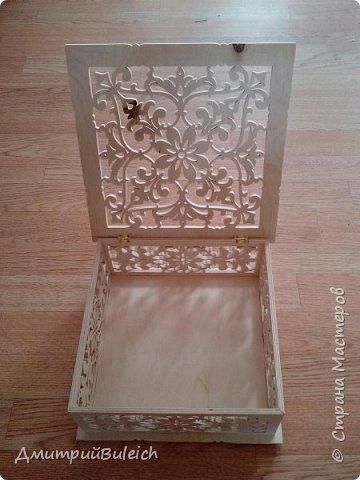 """Шкатулка """"Surprise Box"""" Размеры  25х25 см,высота 10 см. фото 2"""