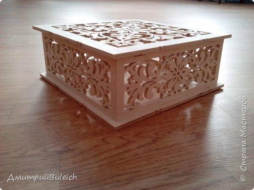 """Шкатулка """"Surprise Box"""" Размеры  25х25 см,высота 10 см. фото 3"""