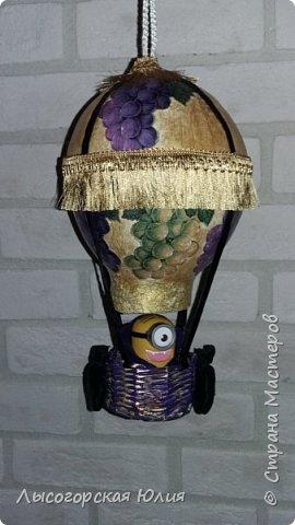 """Всем здравствуйте! """"Очнись - уже ВЕСНА"""" )))))- сказала мне сестра, когда увидела мои новогодние домики, а я все не унимаюсь.  Вот  вам шары, новогодний и воздушный. Шары из папье - маше, основой  был воздушный шарик. фото 6"""
