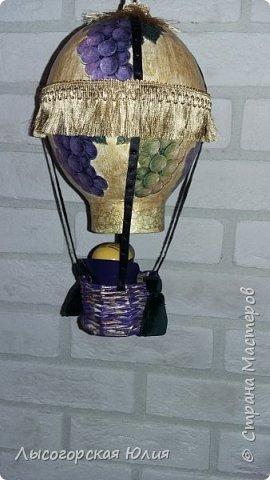 """Всем здравствуйте! """"Очнись - уже ВЕСНА"""" )))))- сказала мне сестра, когда увидела мои новогодние домики, а я все не унимаюсь.  Вот  вам шары, новогодний и воздушный. Шары из папье - маше, основой  был воздушный шарик. фото 7"""