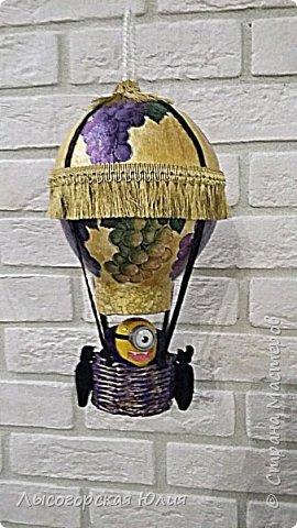 """Всем здравствуйте! """"Очнись - уже ВЕСНА"""" )))))- сказала мне сестра, когда увидела мои новогодние домики, а я все не унимаюсь.  Вот  вам шары, новогодний и воздушный. Шары из папье - маше, основой  был воздушный шарик. фото 9"""
