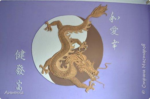 "Барельеф ""Китайский Дракон"" фото 6"