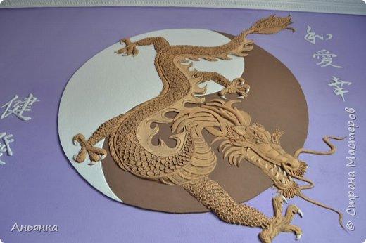 "Барельеф ""Китайский Дракон"" фото 7"