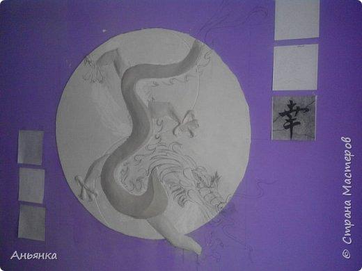 "Барельеф ""Китайский Дракон"" фото 4"