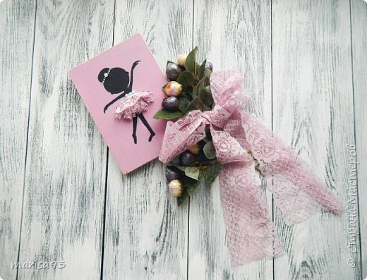 "Сувениры "" ballerina"" Из дерева фото 1"