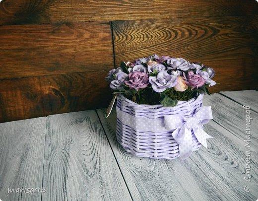 """Цветочная композиция """"Моя прелесть"""" фото 4"""