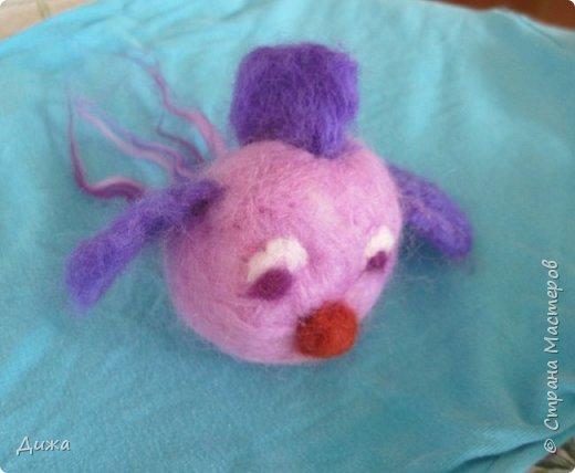Всем большущий приветик!!! Показываю вам свою новую игрушку Рыбка-петушок. Вот он такой замечательный и яркий! Игрушку сделала на кружке валяния в школе. А цвет такой выбрала, потому что это мои любимые сочетания оттенков. По гороскопу я рыбка и люблю рыбок :-) фото 3