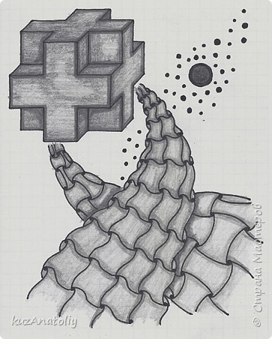 Абстракция - крест и пути