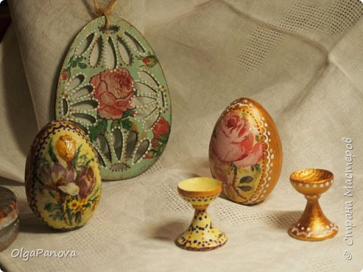 Деревянные заготовки принарядились к празднику. фото 3