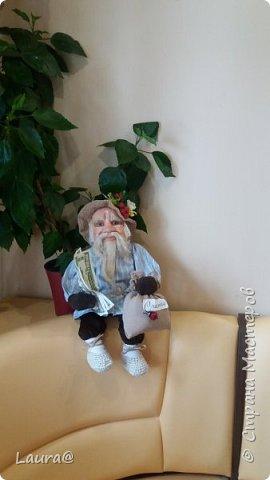 И снова у нас домовой! Люблю дедов - страшно люблю! Ну не было у меня дедули в детстве))) фото 4