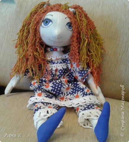 моя первая проба в шитье кукол