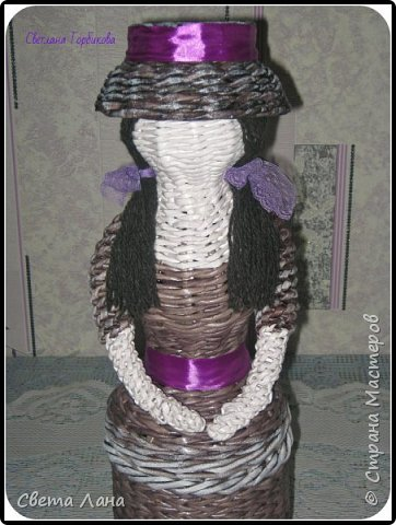 Всем доброго времени суток! Плетением занимаюсь больше года, но в СМ впервые показываю свои работы. Кто-то уже видел их в различных группах по плетению, а может быть и нет... Буду рада новым знакомствам и общению. Сегодня я с моими очаровательными кукляшками. Знакомьтесь, Катерина    фото 8
