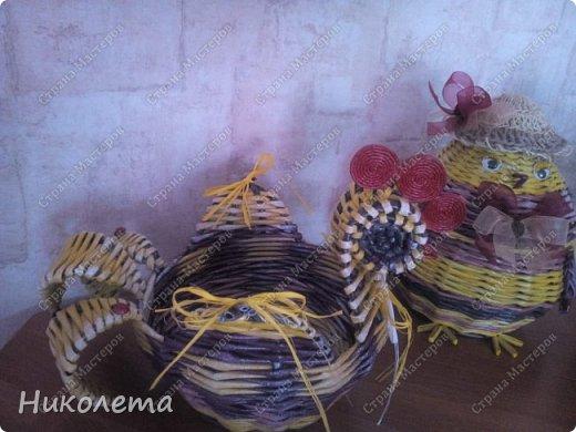 курятник пополняется (плетение) фото 6