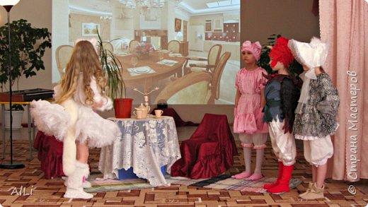 """Театральная весна в детском саду, спектакль по мотивам Сказки С.М. Маршака """"Кошкин дом""""  -тётя Кошка фото 4"""