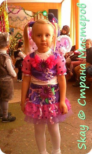 Захотела моя 4-х летняя любимая племянница Настенька быть на Новый год феечкой Винкс. Ну может и не совсем похоже, но вот, что у меня получилось! фото 2