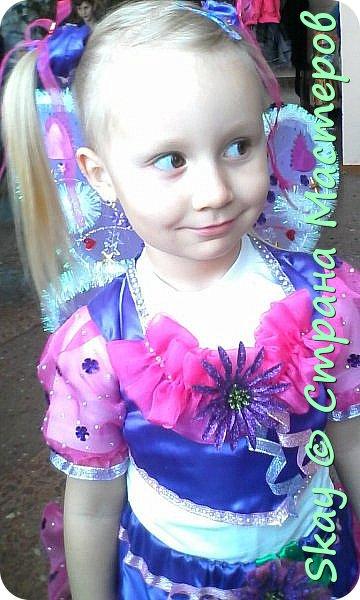 Захотела моя 4-х летняя любимая племянница Настенька быть на Новый год феечкой Винкс. Ну может и не совсем похоже, но вот, что у меня получилось! фото 1