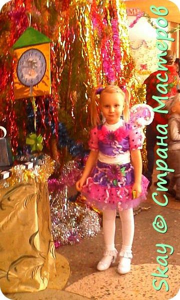 Захотела моя 4-х летняя любимая племянница Настенька быть на Новый год феечкой Винкс. Ну может и не совсем похоже, но вот, что у меня получилось! фото 5