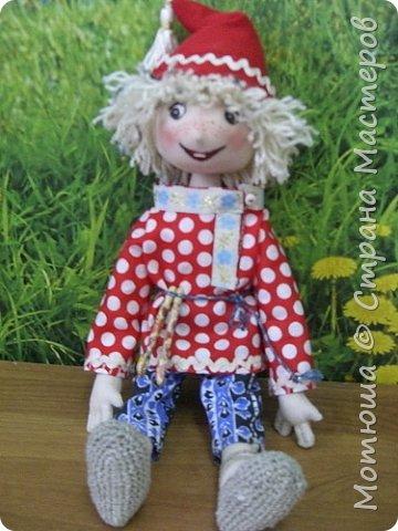 Рада всех видеть)))  Решила в срочном порядке разместить свою последнюю работу, так как эта куколка уже не со мной... фото 2