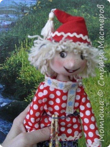 Рада всех видеть)))  Решила в срочном порядке разместить свою последнюю работу, так как эта куколка уже не со мной... фото 3