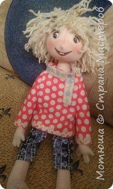 Рада всех видеть)))  Решила в срочном порядке разместить свою последнюю работу, так как эта куколка уже не со мной... фото 4