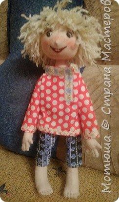 Рада всех видеть)))  Решила в срочном порядке разместить свою последнюю работу, так как эта куколка уже не со мной... фото 5