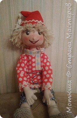 Рада всех видеть)))  Решила в срочном порядке разместить свою последнюю работу, так как эта куколка уже не со мной... фото 6