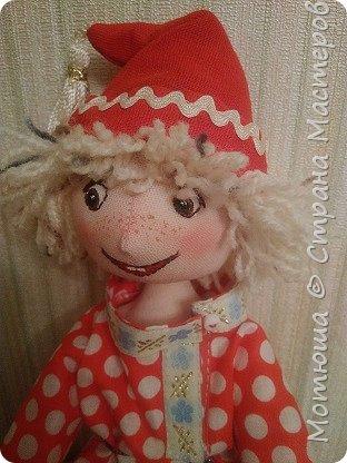 Рада всех видеть)))  Решила в срочном порядке разместить свою последнюю работу, так как эта куколка уже не со мной... фото 14