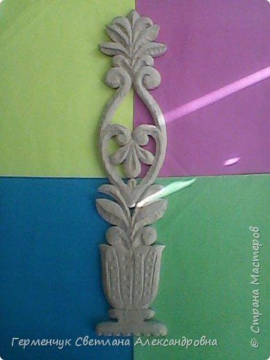Эту изящную вазу с цветами  вырезал  Павлючук Андрей, 9  лет .Мальчик занимается в ДШИ  резьбой по дереву (преподаватель  Вячеслав Николаевич) фото 5