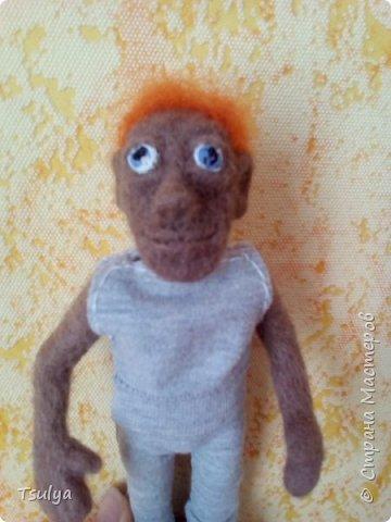Это Егорка. Мой самый первый кукольный человек. фото 2