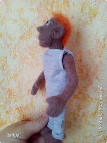 Это Егорка. Мой самый первый кукольный человек. фото 1