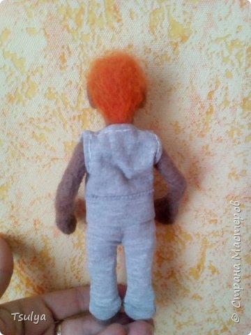 Это Егорка. Мой самый первый кукольный человек. фото 3