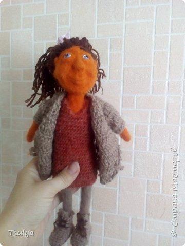 Это Егорка. Мой самый первый кукольный человек. фото 5