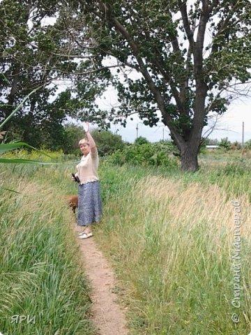 Всем-здравствуйте! Моя дочь живёт далеко, но мы умудряемся совершить поездку в один день. Обычно весной или в начале лета. Конечно, у меня в руках фотоаппарат, надо же запечатлеть красоту  донской степи, сделать фото новых рукодельных работ доченьки( а их, обычно, много!) фото 15